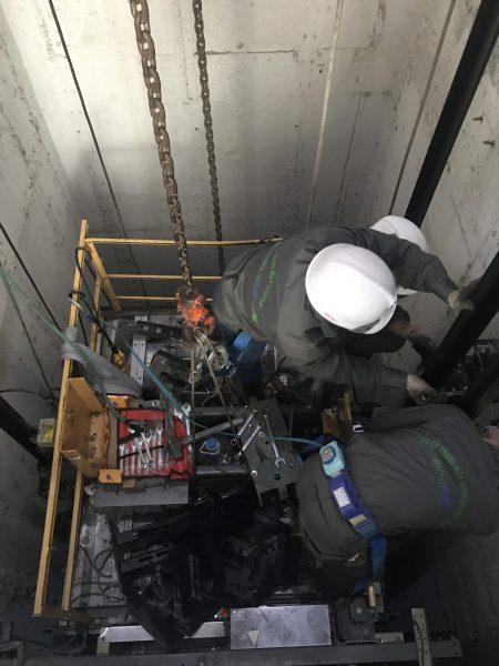 Bảo trì thang máy Ecofuji